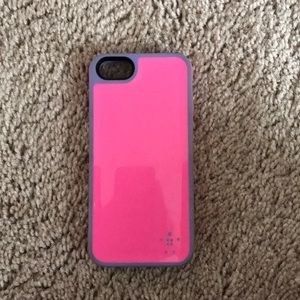 Accessories - PINK&PURPLE BELKIN IPHONE 5 CASE